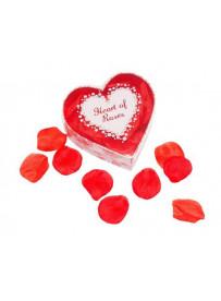 Corazón Pétalos De Rosa