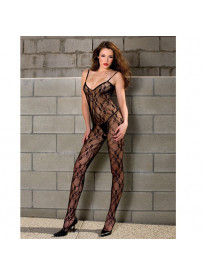 CATSUIT CUERPO EN RED WELL  BODY MUSICLEGS