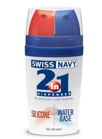 Swiss Navy Lubricanteltbrgt 2 en 1 Silicona/Agua