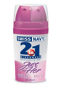 Swiss Navy Estimulanteltbrgt 2 en 1 EllaltbrgtFuerte/Suave