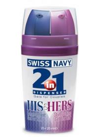 Swiss Navy ltbrgtEstimulanteltbrgt 2 en 1 El y Ella