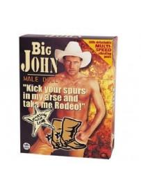 Big John Muñeco Con Vibrador