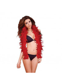 BOA ROJA OUCH SEDUCTIVE FEATHER