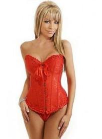 Corset Rojo M&S Lingerie