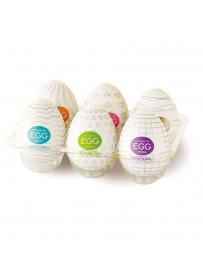 Pack 6 Huevos Masturbadores Tenga