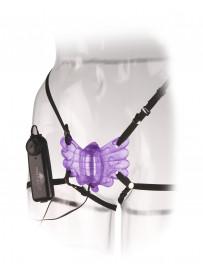 Mariposa Vibradora Con Arnés