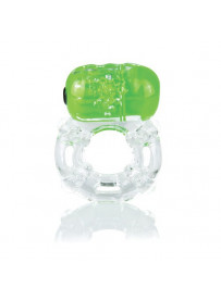 ANILLO VIBRADOR COLOR POP BIG O VERDE