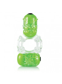 ANILLO VIBRADOR COLOR POP BIG O2 VERDE