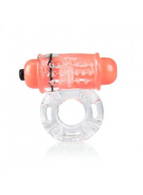 ANILLO VIBRADOR COLOUR POP O WOW NARANJA