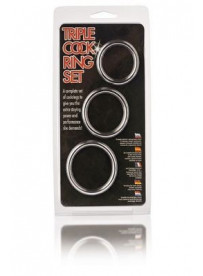 TRIPLE COCK RING SET