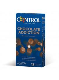 PRESERVATIVOS CONTROL CHOCOLATE 12 UNID